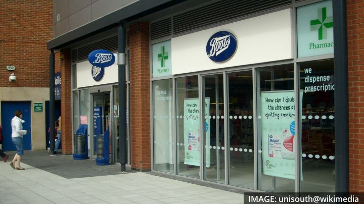 Chest freezers at Boots